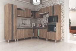 Popular Móveis!!! Cozinha Completa Lorena Em L