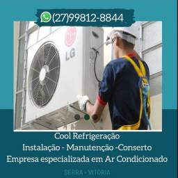 Instalação e manutenção de ar condicionado * Serra Es