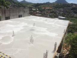 Vendo um lote com casa em construção em Nova Canaã Cariacica