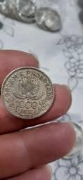 Moeda de 1000 Reis de prata