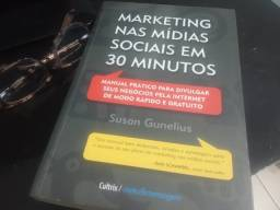 Marketing Nas Mídias Sociais Em 30 Minutos- Excelente Estado