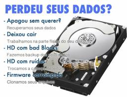 Recuperação arquivos no HD Sata IDE cartao de memoria