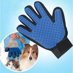 Luva escovadora para Pet