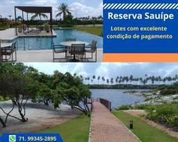 Reserva Sauípe, venha conhece a Etapa 2, lotes com total infraestrutura