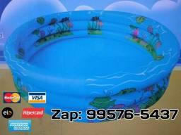 Piscina infantil 250 litros