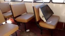 Banco duplo do microonibus agrale 1800d