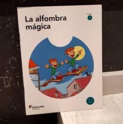 "Livro ""La alfombra mágica"" com CD"