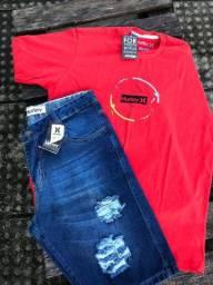 Kit Camisa e Bermudas