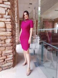 Vestido em Tricot