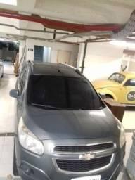 Chevrolet Spin 1.8 8V FLEX com gás 2013 (Cinza escuro)