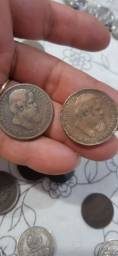 Moedas antigas 130 reais