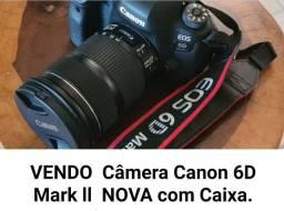 Câmara Canon 6D Mark ll semi nova