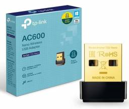Adaptador Wireless Usb Tp-link Archer T2u Ac600 Dual Band