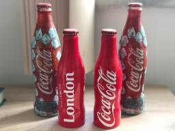 Garrafas Coca Cola retro