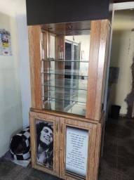 Título do anúncio: Cristaleira personalizada Bob Marley feita em madeira