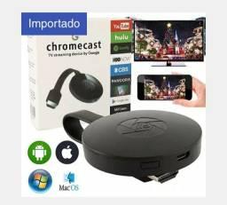Chromecast G2X Anycast Miracast Tela Sem Fio Tv Vara Espelhamento Pro<br><br>