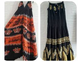 Os dois vestidos só 100 reais leia o anúncio