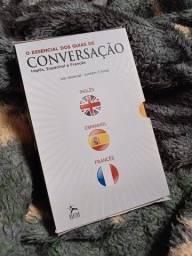 Título do anúncio: Manuais de conversação - Kit com 3 livros.