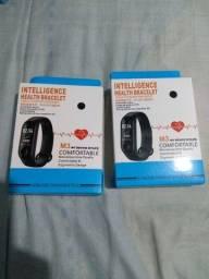 Smartwatch M3, zero na caixa, nunca usado.