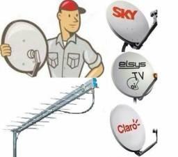 Antena Instalação e Apontamento