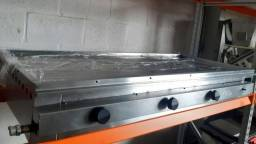 Chapa Bifeteira 1.40M - 4 queimadores - Seminova - Com garantia | Matheus