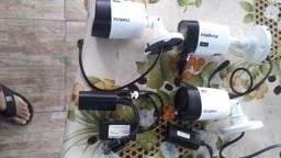 Materiais elétricos e CFTV usados
