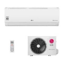 Ar-Condicionado Split HW LG Dual Inverter Compact 9.000 BTUs Só Frio 220V