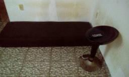 Sofá separado coloca um atrás do outro