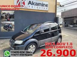 Fiat - Idea 1.8 ADV - 2010 -Automática - Completa.