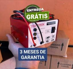 ( Carro-Moto-Caminhão ) Carregador de Bateria Automotivo 12v--Cf5ah. 3 Meses de Garantia.
