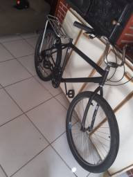 Bicicleta aro 26 preta nova