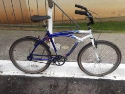 Vendo bicicleta usada em bom estado sem marcha