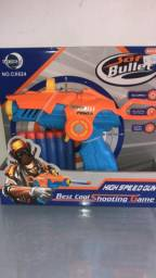 Título do anúncio: brinquedo pistola tipo nerf top de qualidade