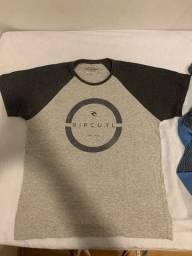 Vendo camisetas Rip Curl, Hurley e Vans