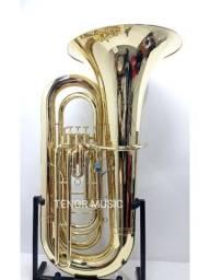 Tuba HS MUSICAL R751 Sib 4 Pistos 4/4 NOVA