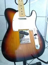 Título do anúncio: Fender telecaster sunburst mexicana