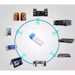 Receptor Bluetooth Usb Áudio Músicas Som Carro Adaptador De Música