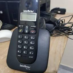 Telefone sem fio intelbras com ramal Barato