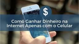 Título do anúncio: Ganhar dinheiro com o celular e internet zap *