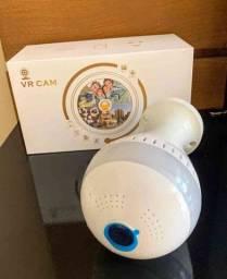 Lâmpada Câmera de Segurança 360