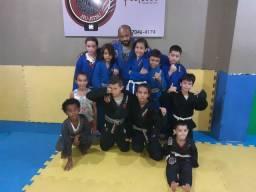 Aulas de Jiu jitsu e Muay Thai