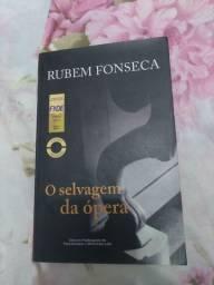Livro O selvagem da ópera