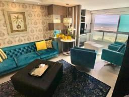 Título do anúncio: Apartamento beira mar com infraestrutura completa mobiliado e decorado estuda prazo direto