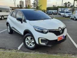 Título do anúncio: Renault Captur Life 1.6 16v CVT - Couro + Mídia - Apenas 10.000 km!