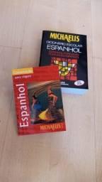Título do anúncio: Dicionários francês e espanhol