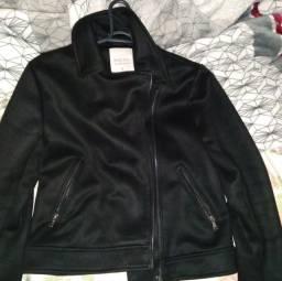 Vendo jaquetinha estilo camurça da renner tam P