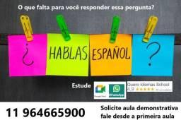 Título do anúncio: Inglês e espanhol online, Sim