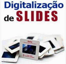 Título do anúncio: Digitalização de slides e negativos de fotos para jpeg