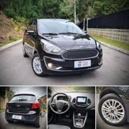 Inacreditável!! Ford KA Titanium 2019 único dono automático apenas 6 mil km