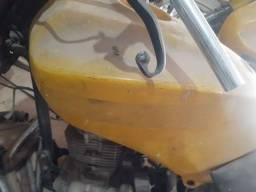 Moto leilão 150 cilindradas sem as rodas